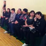 Учителя физической культуры на городской конференции