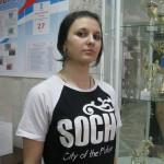 """Высшая лига А, член сборной команды """"Енисей"""" Сорокина Инна"""