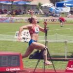 Член сборной России по легкой атлетике Гончарова Марина