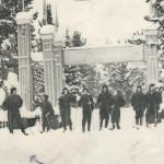1963-64 гг. Отделение лыжных гонок